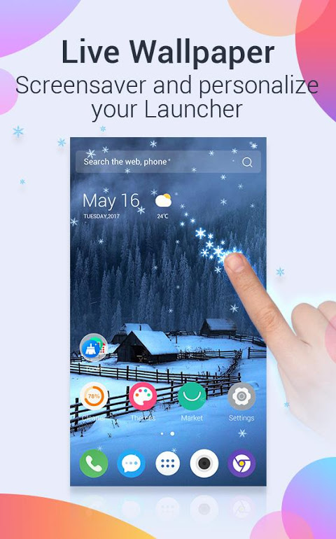 Android U Launcher Pro-NO ADS Screen 1