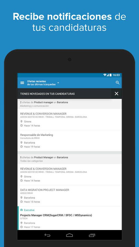Android InfoJobs - Job Search Screen 21