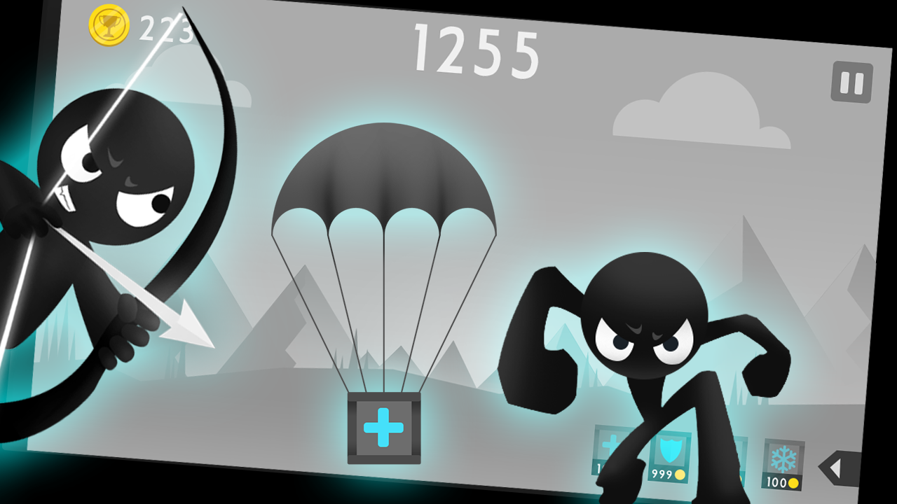 Android Stickman Archer Fight Screen 3