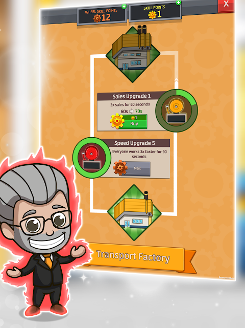 Android Idle Factory Tycoon Screen 11