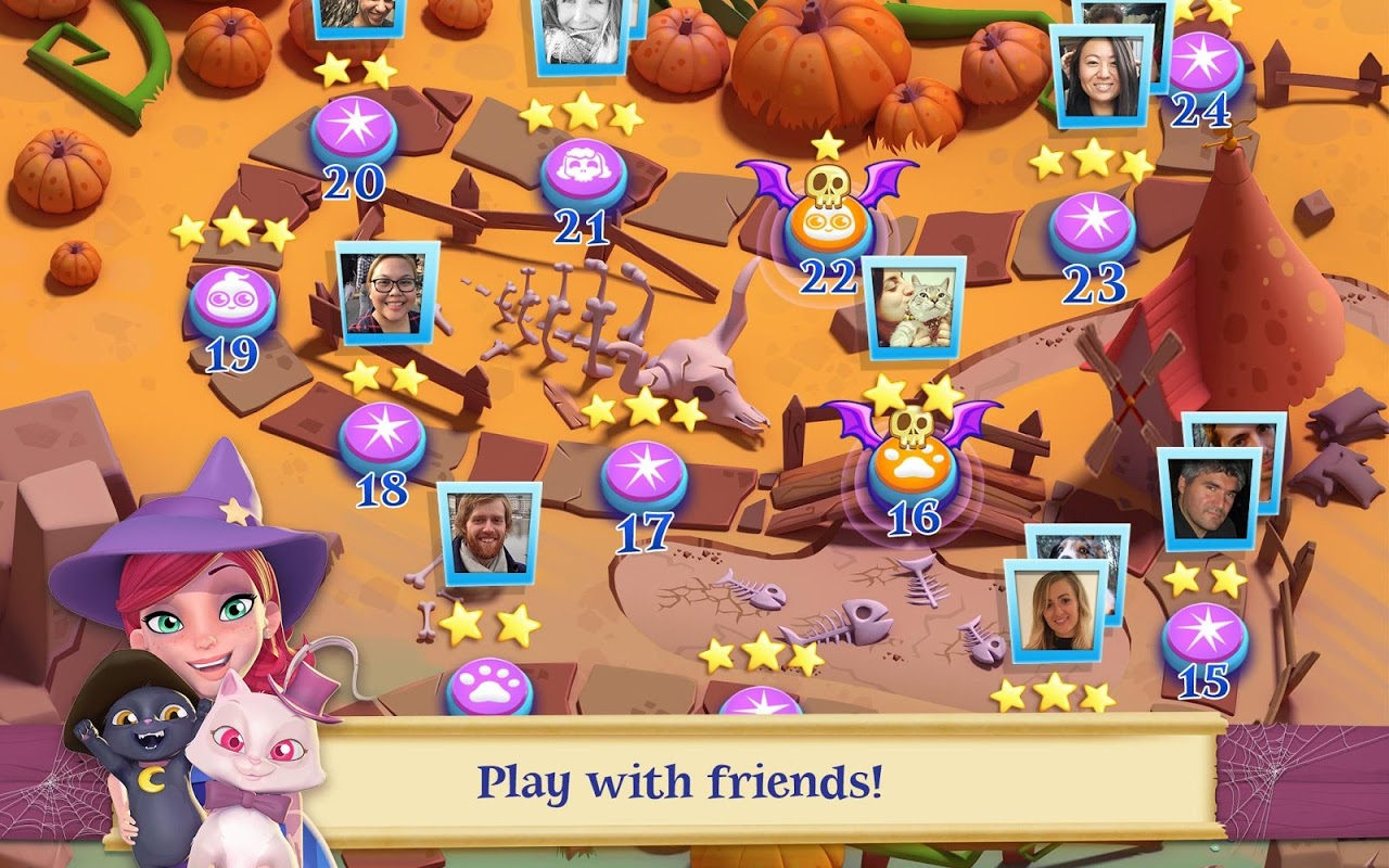 Android Bubble Witch 2 Saga Screen 9