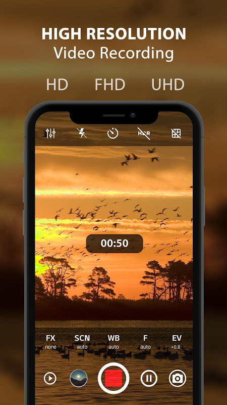 HD Camera Pro : Best Camera HD Professional 1.9 Screen 1