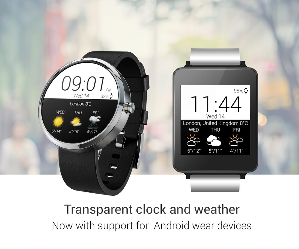 Transparent clock weather Pro 0.99.02.39 Screen 24