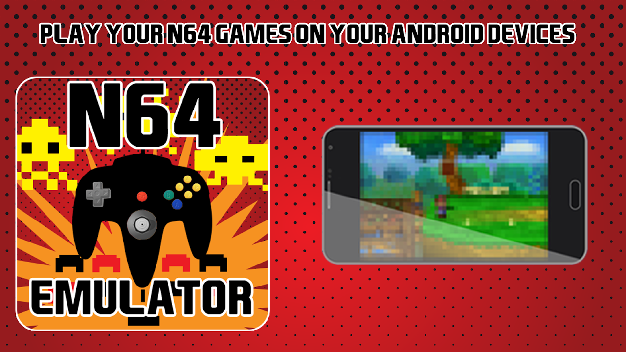 Android Emulator for N64 Screen 1