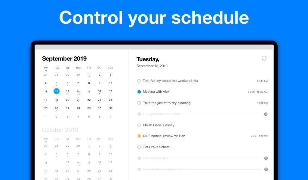 Any.do: To-do list, Calendar, Reminders & Tasks 4.12.0.5 Screen 15