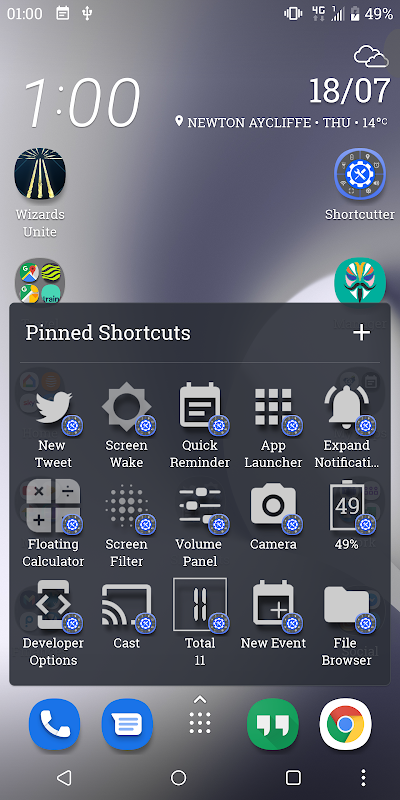 Shortcutter - Quick Settings 7 1 1 APK Download by LeeDrOiD