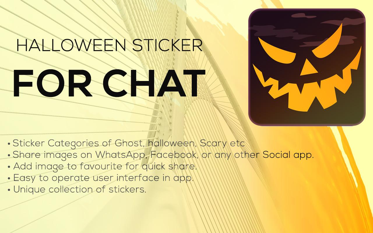Android Halloween Stickers For Whatsapp Screen 5