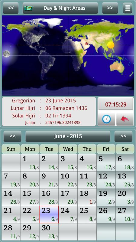 Sun & Moon Calendar v3.6.0 Screen 10