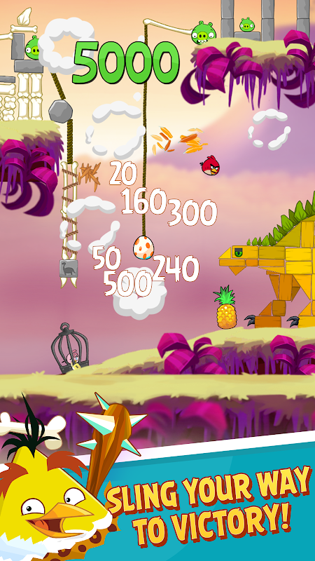 Android Angry Birds Screen 11