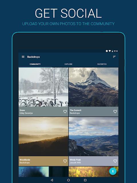 Backdrops - Wallpapers 4.0.8 Screen 1