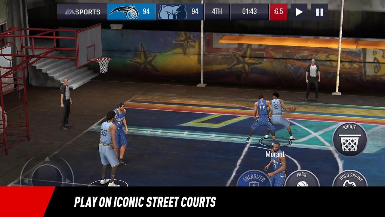NBA LIVE Mobile Basketball 4.0.10 Screen 8