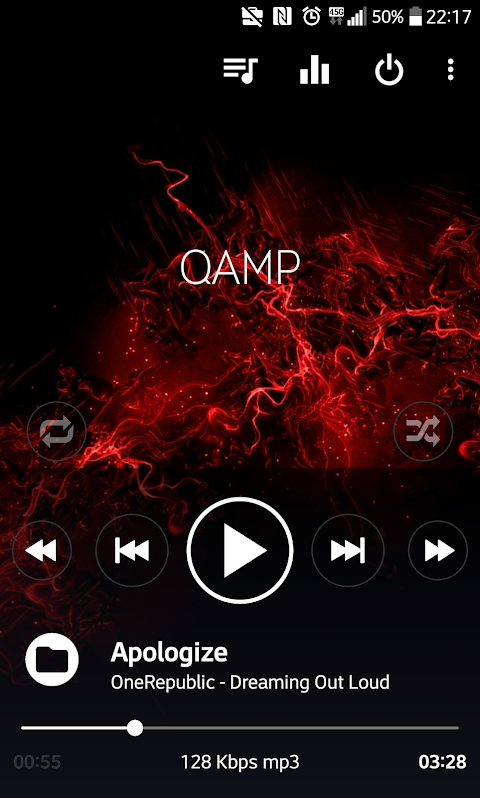 Mp3 player - Qamp 1.0.085 Screen 4