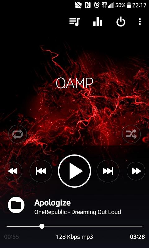 Mp3 player - Qamp 1.0.085 Screen 4