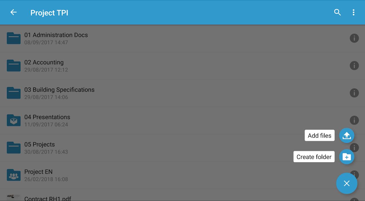 Oodrive Mobile 1.8 Screen 18