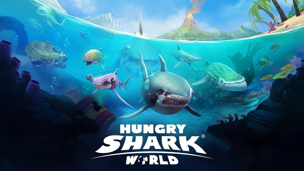 Android Hungry Shark World Screen 7