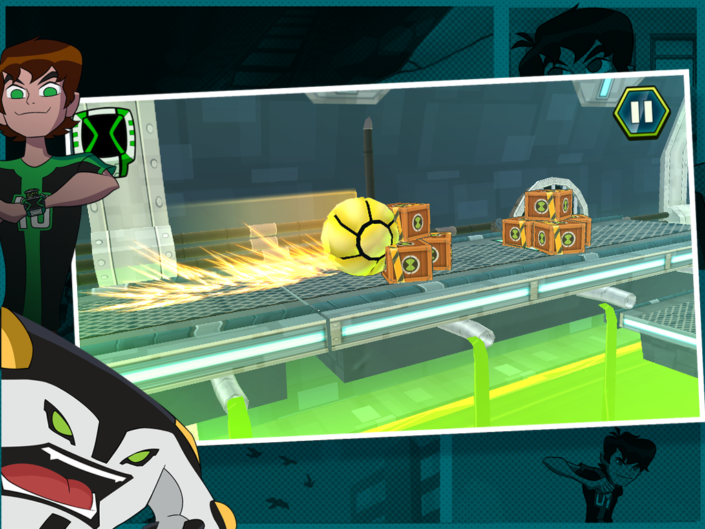Android Undertown Chase - Ben 10 Screen 4