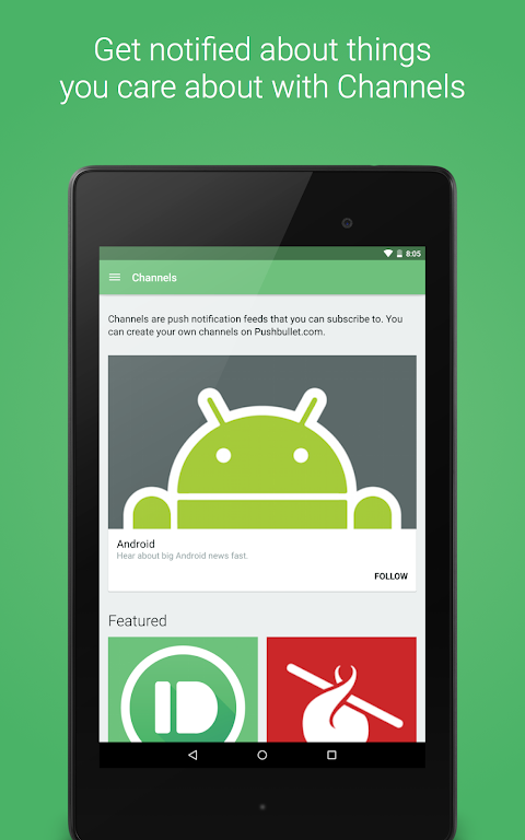 Pushbullet - SMS on PC 17.8.15 Screen 12