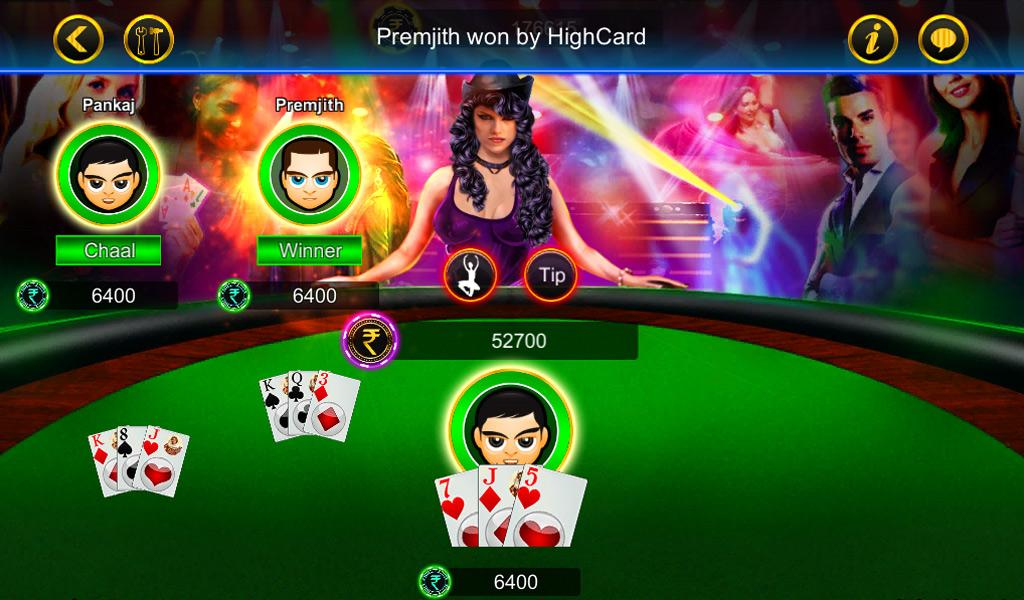 Android Teen Patti Screen 3