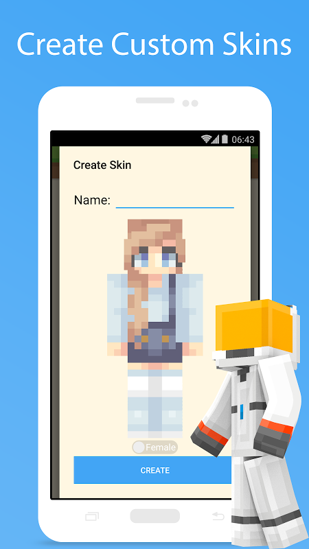 MCPE Skin Studio 4.0.1 Screen 7