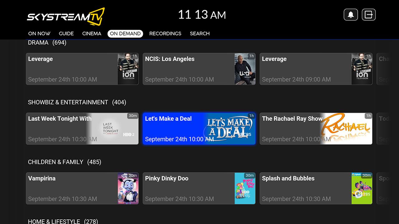 SkyStream TV Live TV Streaming Service APKs | Android APK