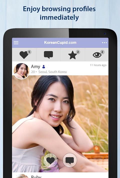 Korean Dating App 1 km