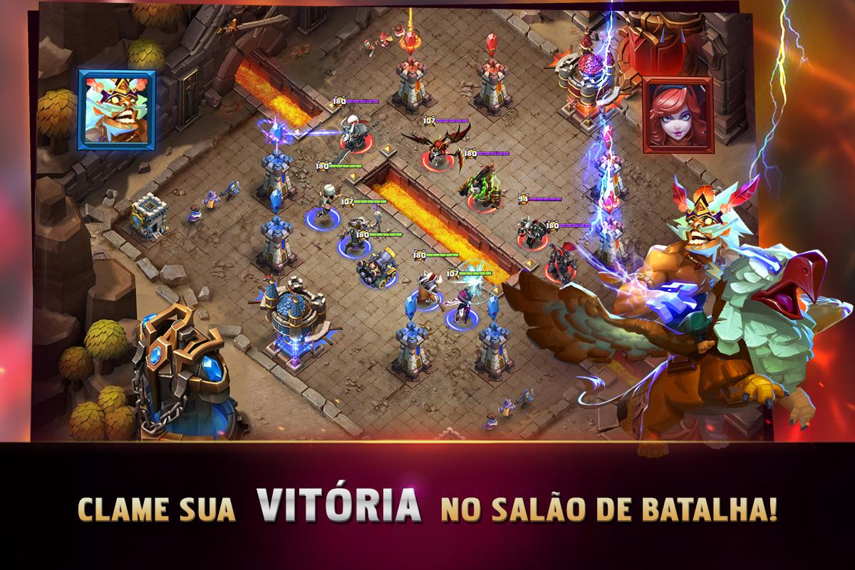 Android Clash of Lords 2: A Batalha Screen 5