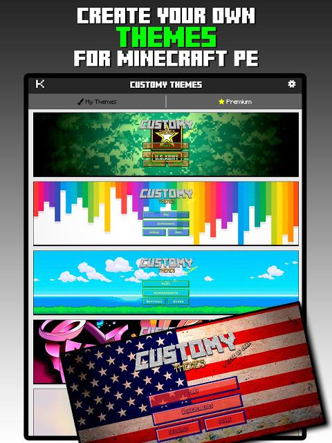 Customy Themes for Minecraft PE 1.29 Screen 3