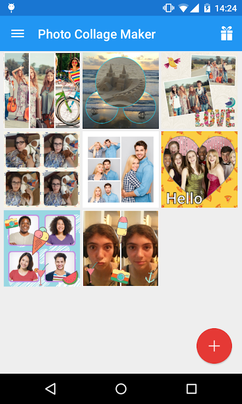 Android Photo Collage Maker Screen 5