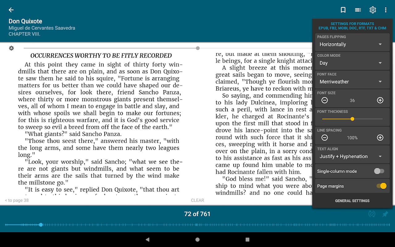 ReadEra - epub, pdf, docx ebook reader 19.01.10+730 Screen 13