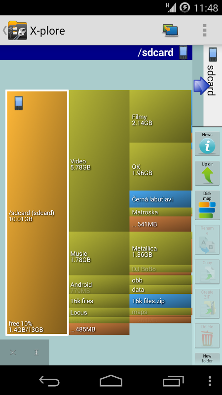 X-plore File Manager 3.89.00 Screen 5