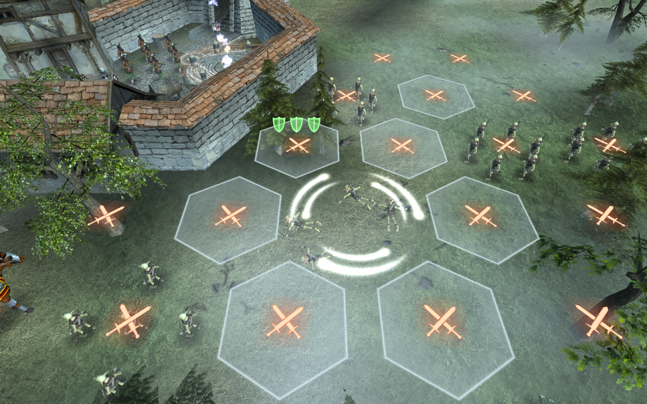 Android Hex Commander: Fantasy Heroes Screen 17