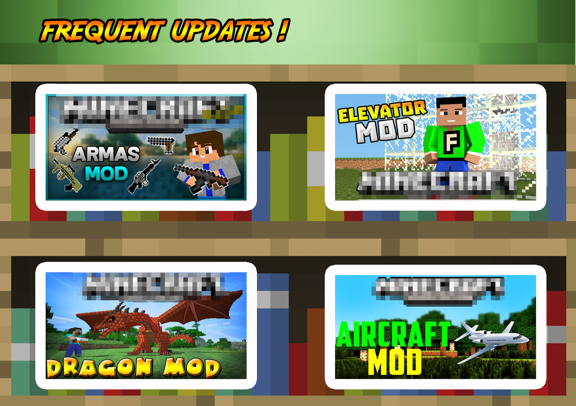 Android Addons & Mods for Minecraft PE Screen 2