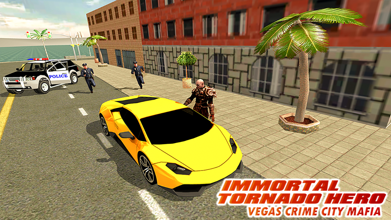 Android Immortal Tornado hero - Vegas Crime City Mafia Screen 6