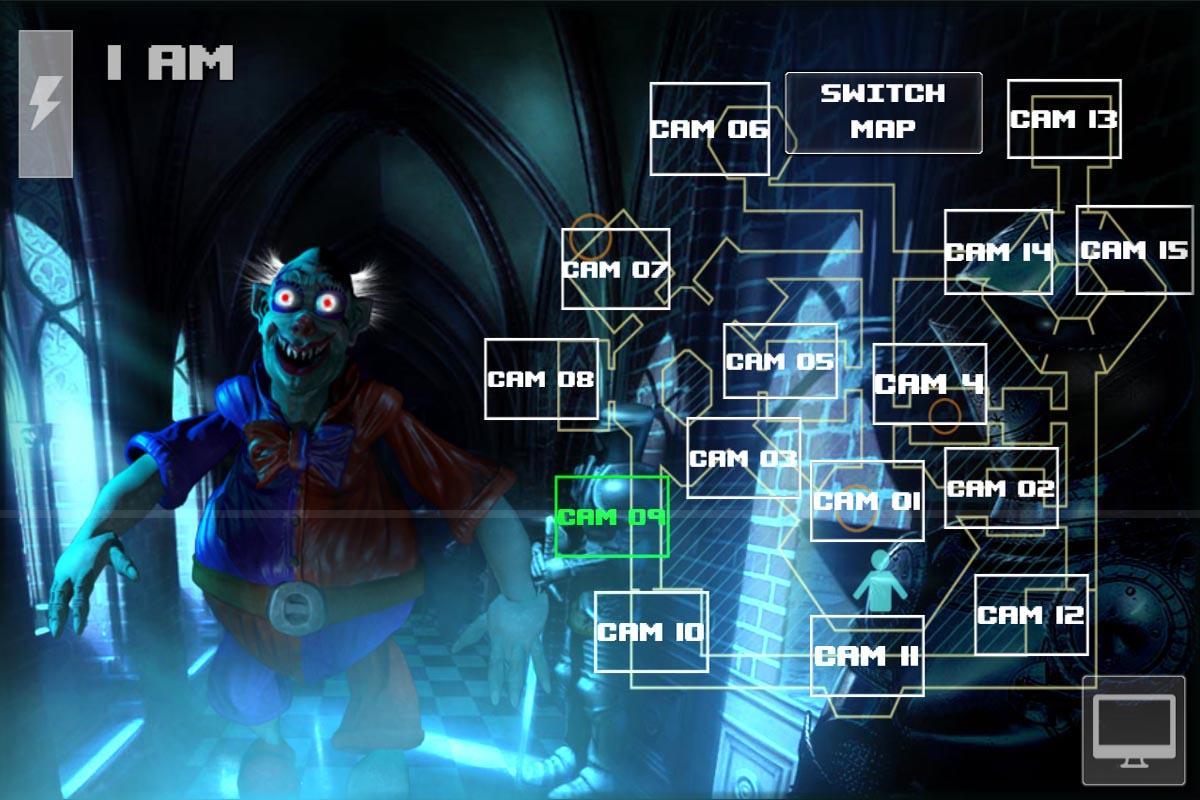 Android Zoolax Nights:Evil Clowns Full Screen 3