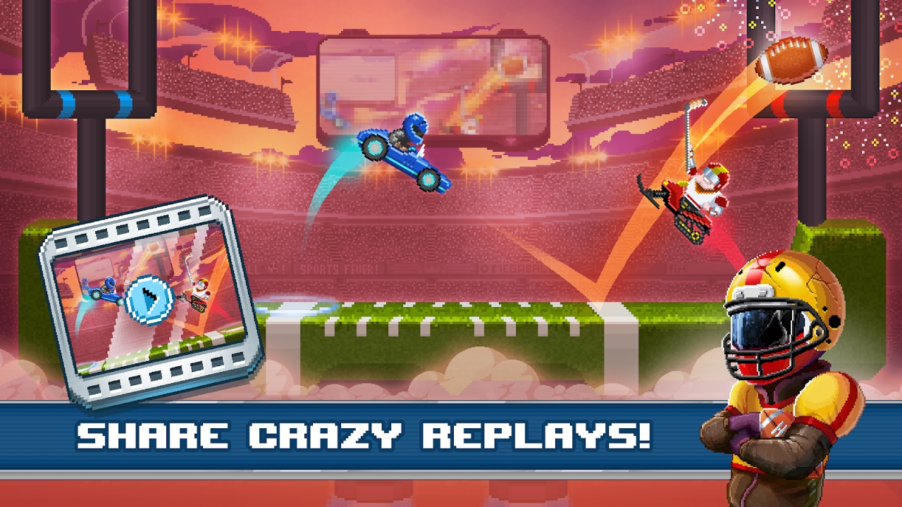 Android Drive Ahead! Sports Screen 2