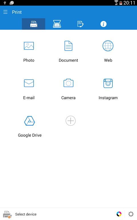 Samsung Mobile Print 4.07.011 Screen 9