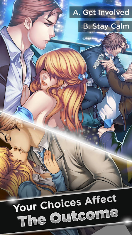Android Is-it Love? Ryan: Choose your story – Otome Games Screen 1