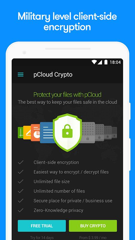 pCloud: Free Cloud Storage 1.30.0 Screen 5