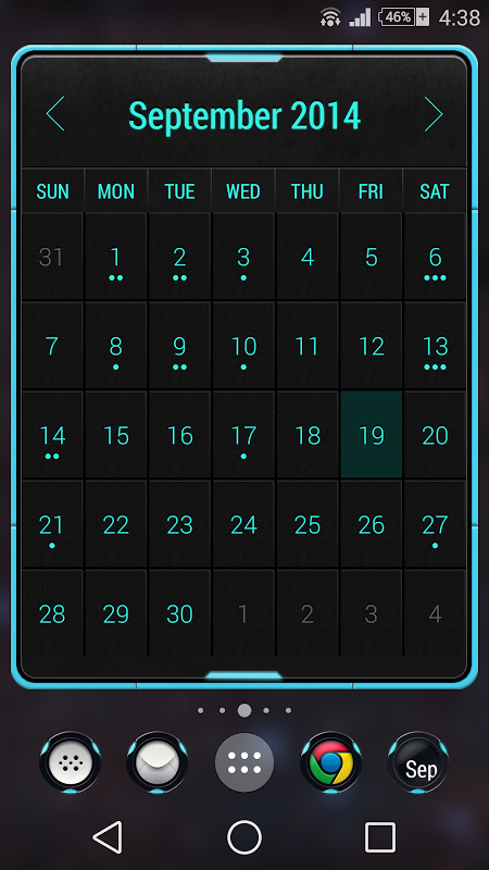 Month: The Calendar Widget 1 0 14 8 29 APK Download by Candl Apps