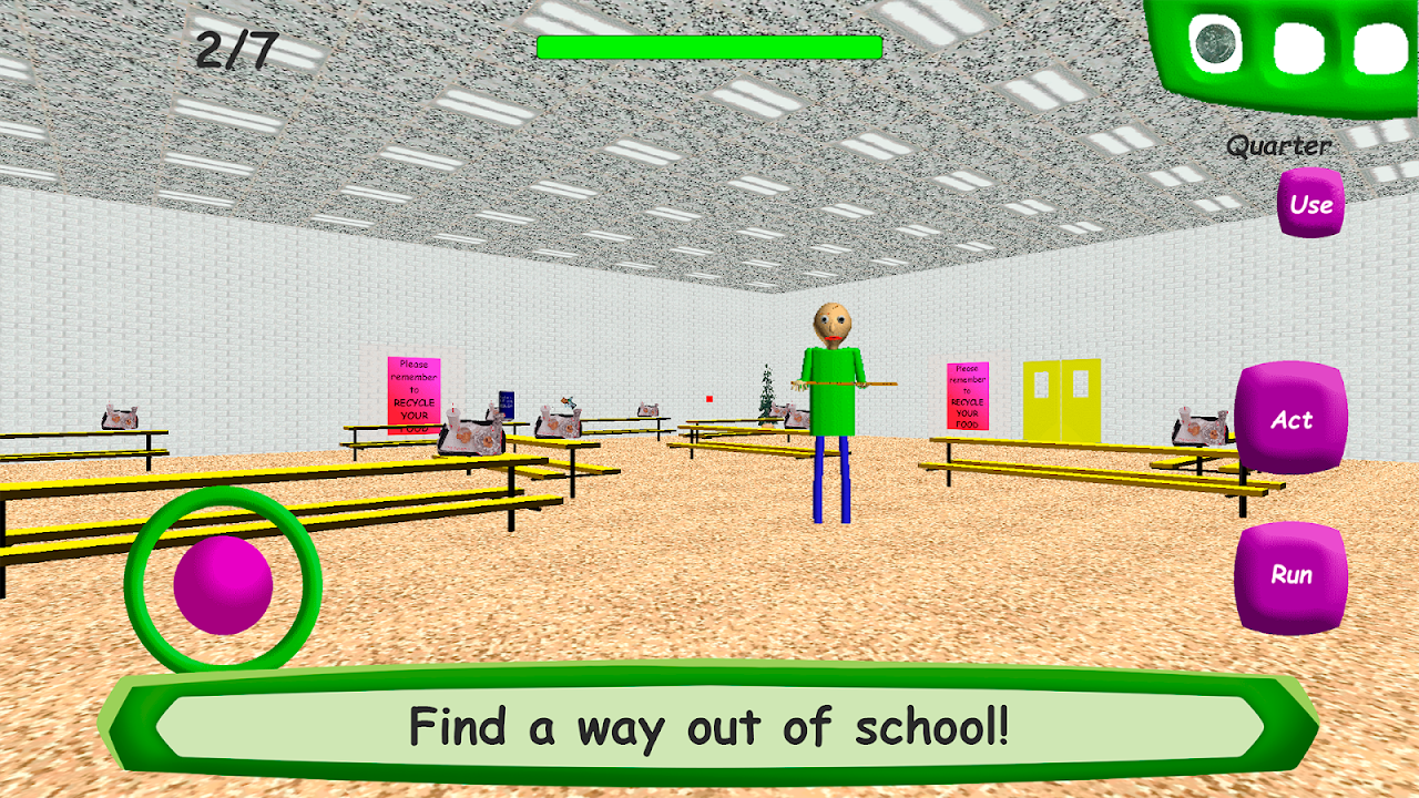 Baldi's Basics in Education 1.4 Screen 3