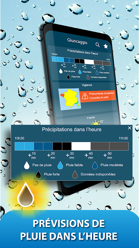Android METEO FRANCE Screen 2