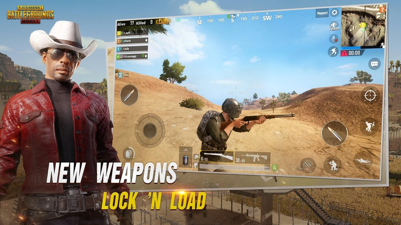 Android PUBG MOBILE Screen 2