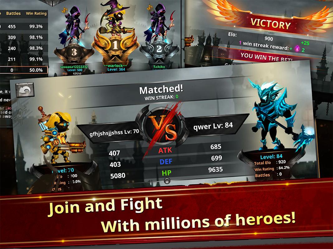 Android Stickman Legends - Ninja Warriors: Shadow War Screen 3