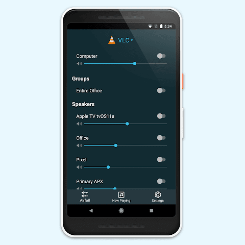 Android Airfoil Satellite for Android Screen 2