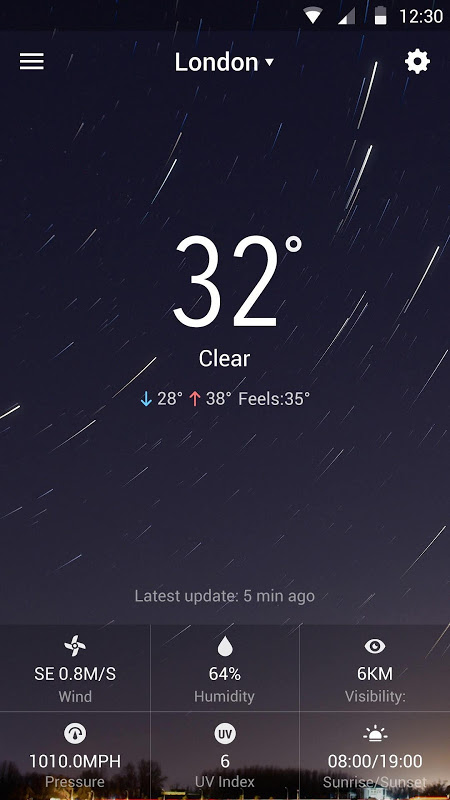 Sense Flip Clock & Weather 8.3.2.1058_release Screen 6