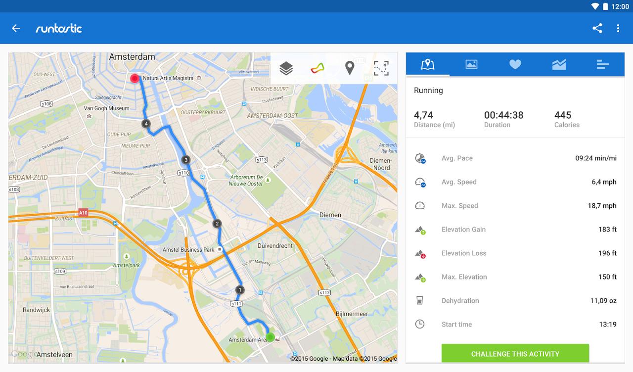 Runtastic PRO Running, Fitness 7.5.1 Screen 13