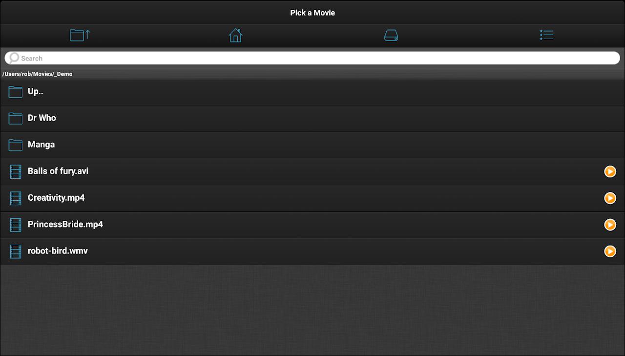 VLC Streamer Free 2.42 (3156) Screen 12