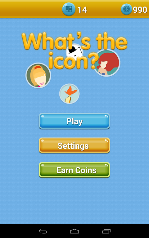 Android Icomania - What's the Icon? Screen 2