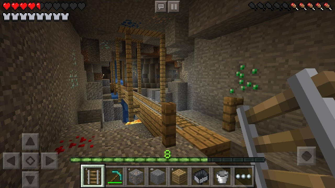 Android Minecraft Trial Screen 2