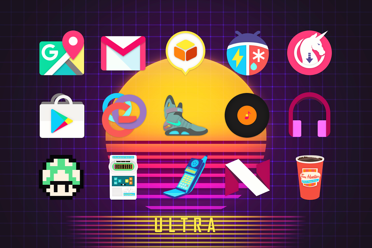 Android Ultra Icon Pack Screen 8